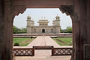 India, Uttar Pradesh, Agra, Tomb of Itmad-Ud-Daulah's (also known as the Baby Taj Mahal)
