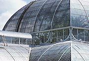 Palm House in Kew Gardens, London, United Kingdom.
