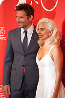 Director Bradley Cooper and Actress and singer Lady Gaga at the photocall for the film A Star is Born at the 75th Venice Film Festival, on Friday 31st August 2018, Venice Lido, Italy.