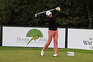 Hugues Joannes (BEL) on the 9th tee during Round 1 of the Volopa Irish Challenge in Tullow, Co. Carlow on Thursday 8th October 2015.<br /> Picture:  Thos Caffrey / www.golffile.ie