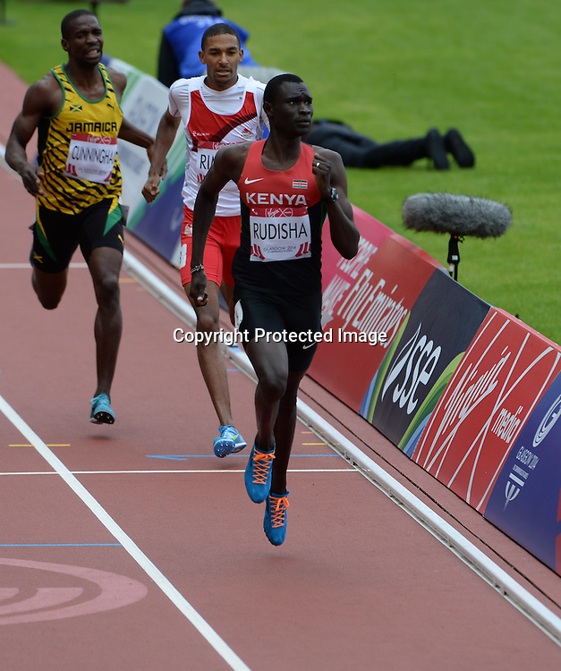 Men's 800m qualifying on July 29th, 2014 at the Commonwealth Games, Glasgow