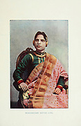 Mohamedan [Mohammedan] Natch girl [Dancer] Typical Pictures of Indian Natives Being reproduction from Specially prepared hand-colored photographs. By F. M. Coleman (Times of India) Seventh Edition Bombay 1902