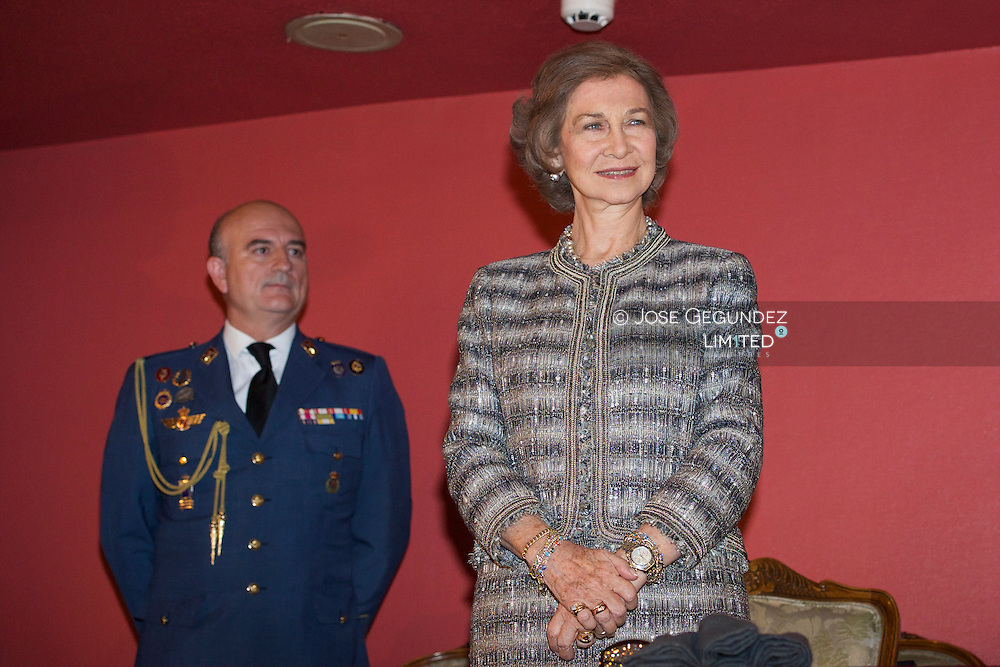 Queen Sofia of Spain attends the Delivery 31st Queen Sofia Prize for Musical Composition at Monumental Theater on October 16, 2014 in madrid