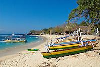 Indonesie. Bali. ile de Nusa Lembongan. Plage de Mushroom Bay. // Indonesia. Bali. Nusa Lembongan island. Beach of Mushroom Bay.