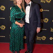 NLD/Amsterdam/20191009 - Uitreiking Gouden Televizier Ring Gala 2019,  Anne-Mar Zwart en partner