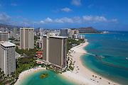 Hilton, Waikiki, Honolulu, Oahu, Hawaii