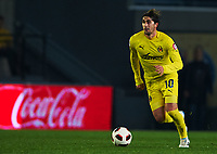 VILLAREAL, SPAIN - FEBRUARY 4: Cani of Villarreal in action during the La Liga match between Villarreal CF and Levante UD at El Madrigal Stadium in Villarreal on Fabruary 4 2011. Levante won 0-1. (Photo by Xaume Olleros/SSP/DPPI)