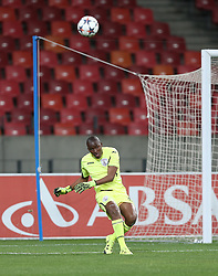 Johnny Mathole of Free State Stars during the 2016 Premier Soccer League match between Chippa United and Free State Stars held at the Nelson Mandela Bay Stadium in Port Elizabeth, South Africa on the 23rd August 2016<br /><br />Photo by:   Richard Huggard / Real Time Images