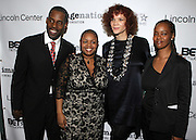 l to r: Greg Gates, Moikgansti Kgama, Michaela Angela Davis and Melissa Thornton at The ImageNation celebration for the 20th Anniversary of ' Do the Right Thing' held Lincoln Center Walter Reade Theater on February 26, 2009 in New York City. ..Founded in 1997 by Moikgantsi Kgama, who shares executive duties with her husband, Event Producer Gregory Gates, ImageNation distinguishes itself by screening works that highlight and empower people from the African Diaspora.