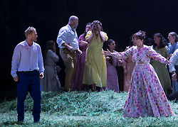 Komische Oper Berlin return to the International Festival for Tchaikovsky's best-loved opera, based on Alexander Pushkin's classic verse novel. Tchaikovsky's heart-breaking love story uses the author's poetry to create lyrical scenes that contrast the austerities of country life with the excesses and opulence of the Russian imperial court.<br /> <br /> Playful, radical and perceptive, Kosky is one of the most renowned directors working in opera today. Rising star Asmik Grigorian, whose performance as Strauss's Salome at the Salzburg Festival recently met with universal adoration, takes the central role of Tatyana. Eugene Onegin is conducted by Latvian-born Ainārs Rubiķis, Komische Oper Berlin's recently appointed Music Director.<br /> <br /> Eugene Onegin is at the Edinburgh International Festival from 15 - 17 August