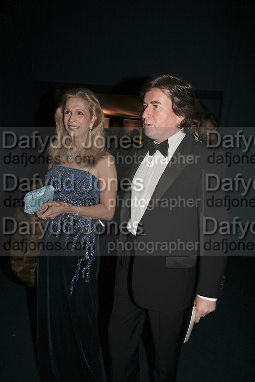 Lady Georgina Campbell and Peter Coleman, British Red Cross Ball, Waterloo. London. 16 November 2006.  TIME USE ONLY - DO NOT ARCHIVE  © Copyright Photograph by Dafydd Jones 66 Stockwell Park Rd. London SW9 0DA Tel 020 7733 0108 www.dafjones.com