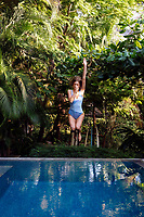 Photo Dan Kullberg to ELLE Sweden in Costa Rica at Casas Capitan<br />Stylist Jenny Fredriksson Hair & Make Up Nina Belkhir