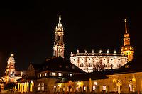 Hofkirche (Dresden Cathedral), Dresden, Saxony, Germany