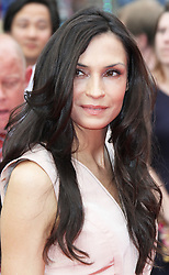 © Licensed to London News Pictures. Famke Janssen at The Wolverine UK film premiere, Leicester Square, London UK, 16 July 2013. Photo by Richard Goldschmidt/LNP