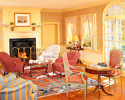Country French living room