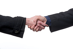 THEMENBILD - Foto zeigt Symbolbild Handschlag // Photo shows icon image handshake, pictured in Zagreb, Croatia on 2015/03/02. EXPA Pictures © 2015, PhotoCredit: EXPA/ Pixsell/ Igor Kralj<br /> <br /> *****ATTENTION - for AUT, SLO, SUI, SWE, ITA, FRA only*****