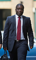 © London News Pictures. 10/09/2012. London, UK . Kweku Adoboli arriving at Southwark Crown Court in London on September 10, 2012 where he is charged with charged with fraud by abuse of position and false accounting.  Adoboli is accused of undertaking unauthorised trading at Swiss bank UBS that resulted in a $2bn loss for the bank, one of the biggest ever cases of alleged unauthorised trading. Photo credit: Ben Cawthra/LNP