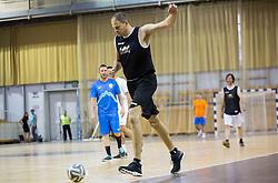 Raso Nesterovic during football and basketball charity event All Legends by Olimpiki, on June 9, 2015 in Hala Tivoli, Ljubljana, Slovenia. Photo by Vid Ponikvar / Sportida