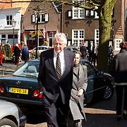 Mattheus Passion 2002 Naarden, Wim Kok en vrouw Rita Roukema