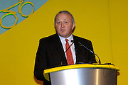 Jean Marie Leblanc, Deputy Director of ASO, at the official launch of London hosting the Prologue and Stage One of the 2007 Tour de France held at the Queen Elizabeth 2 Conference Centre on Thursday 9th February 2006.