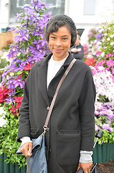 SOPHIE OKONEDO at the 2015 RHS Chelsea Flower Show at the Royal Hospital Chelsea, London on 18th May 2015.
