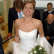 NLD/Amsterdam/20060520 - Huwelijk Edwin van der Sar en Annemarie van Kesteren, Annemarie van Kesteren
