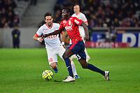 Adama TRAORE  - 24.01.2015 - Lille / Monaco - 22eme journee de Ligue1<br />Photo : Dave Winter / Icon Sport