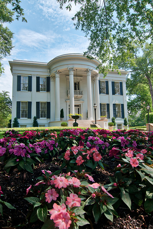 Blooming flowers in front of the governor's mansion in Jackson, Mississippi on Wednesday, May 23, 2018. Copyright 2018 Jason Barnette