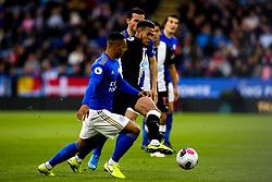 Joelinton of Newcastle United takes on Youri Tielemans of Leicester City - Mandatory by-line: Robbie Stephenson/JMP - 29/09/2019 - FOOTBALL - King Power Stadium - Leicester, England - Leicester City v Newcastle United - Premier League