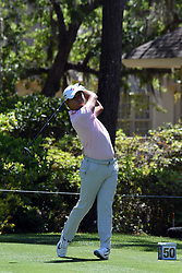 April 12, 2018 - Hilton Head Island, South Carolina, U.S. - HILTON HEAD ISLAND, SC - APRIL 12: Si Woo Kim,  during the first round of the RBC Heritage on April 12, 2018 at Harbour Town Golf Links in Hilton Head Island, SC. (Photo by Theodore A. Wagner/Icon Sportswire) (Credit Image: © Theodore A. Wagner/Icon SMI via ZUMA Press)