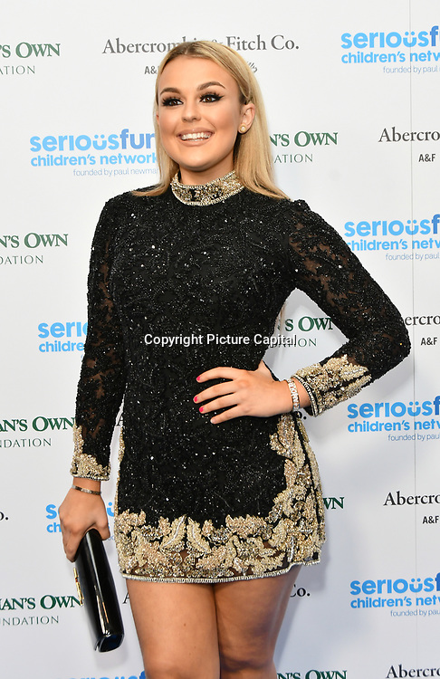 Talia Storm Arrivers at Special gala in honour of SeriousFun Children's Network, the charity  started by actor and philanthropist Paul Newman at The Roundhouse, on 6 November 2018, London, UK.
