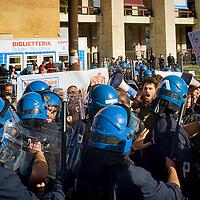 Maker Faire 2015 protesta degli studenti