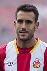 August 15, 2017 - Girona, Spain - Portrait of Kiko Olivas of Girona FC from Spain of Girona FC during the Costa Brava Trophy match between Girona FC and Manchester City at Estadi de Montilivi on August 15, 2017 in Girona, Spain. (Credit Image: © Xavier Bonilla/NurPhoto via ZUMA Press)