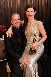 Actress SANDRA BULLOCK and husband, reality star JESSE JAMES have separated after four women came forward claiming to have had affairs with James. Though there have been reports of divorce, the couple has not made any formal announcements. PICTURED Mar. 07, 2010 - Hollywood, California, U.S. - Best Actress SANDRA BULLOCK sits backstage with her husband JESSE JAMES and award during the 82nd Annual Academy Awards at the Kodak Theatre. (Credit Image: © Todd Wawrychuk/AMPAS/ZUMApress.com)