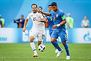 Marcos Urena of Costa Rica and Thiago Silva of Brazil during the 2018 FIFA World Cup Russia, Group E football match between Brazil and Costa Rica on June 22, 2018 at Saint Petersburg Stadium in Saint Petersburg, Russia - Photo Thiago Bernardes / FramePhoto / ProSportsImages / DPPI