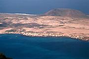 Caleta del Sebo, Graciosa island, Lanzarote, Canary Islands, Spain Rio in 1979 before current harbour was built