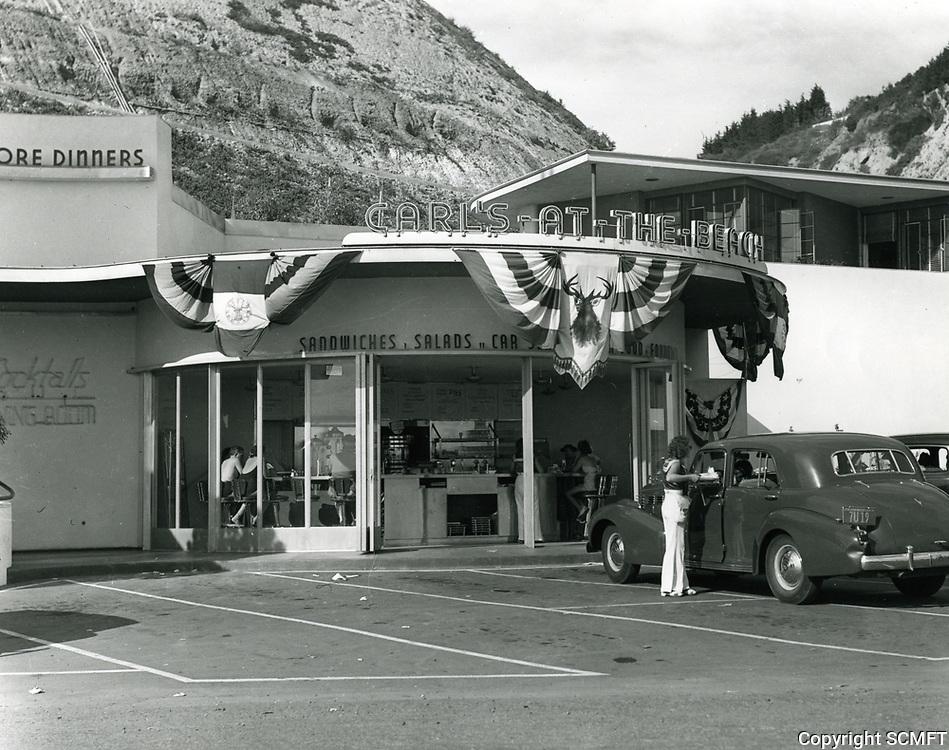 1939 Carl's Drive In on Pacific Coast Highway in Santa Monica