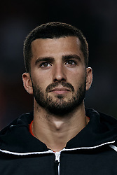 September 11, 2018 - Elche, Alicante, Spain - Jose Luis Gaya of Spain looks on prior to the UEFA Nations League A group four match between Spain and Croatia at Manuel Martinez Valero on September 11, 2018 in Elche, Spain  (Credit Image: © David Aliaga/NurPhoto/ZUMA Press)