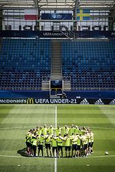 June 18, 2017 - Stockholm, Sweden - U21-EM 2017 i Polen. Svenska landslaget tränar. träning action landslaget..2017-06-18..(c) ORRE PONTUS   Aftonbladet  IBL BildbyrÃ¥....* * * EXPRESSEN OUT * * *....AFTONBLADET 85527 (Credit Image: © IBL via ZUMA Press)