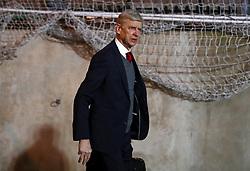 Arsenal manager Arsene Wenger arrives for the Premier League match at Selhurst Park, London.