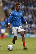Portsmouth Midfielder, Jamal Lowe (10) during the EFL Sky Bet League 1 match between Portsmouth and Peterborough United at Fratton Park, Portsmouth, England on 30 April 2019.