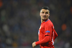 November 2, 2017 - Bucharest, Romania - FCSB's Constantin Budescu during the UEFA Europa League 2017-2018, Group Stage, Groupe G game between FCSB Bucharest (ROU) and Hapoel Beer-Sheva FC (ISR) at National Arena Stadium, Bucharest,  Romania, on 2 November 2017. (Credit Image: © Alex Nicodim/NurPhoto via ZUMA Press)