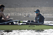 Putney, London,  Tideway Week, Championship Course. River Thames,  Oxford UBC. Cox: Sam Collier Oxford UBC<br /> Tuesday  28/03/2017<br /> [Mandatory Credit; Credit: Peter Spurrier/Intersport Images.com ]