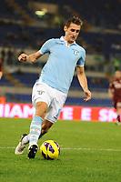 Miroslav Klose (Lazio)<br /> 31/10/2012 Roma, Stadio Olimpico<br /> Campionato di calcio Serie A 2012/2013<br /> Lazio vs Torino<br /> Foto Antonietta Baldassarre Insidefoto