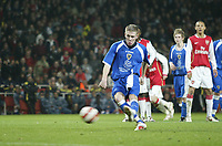 Photo: Marc Atkins.<br /> Arsenal v Cardiff City. FA Youth Cup. 19/02/2007.
