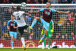 Jeff Hendrick of Burnley takes on Denis Odoi of Fulham - Mandatory by-line: Robbie Stephenson/JMP - 26/08/2018 - FOOTBALL - Craven Cottage - Fulham, England - Fulham v Burnley - Premier League