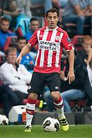 EINDHOVEN, PSV - Feyenoord 0-1, voetbal, Eredivisie seizoen 2016-2017, 18-9-2016, Philips Stadion, PSV speler Andres Guardado.<br /> norway only