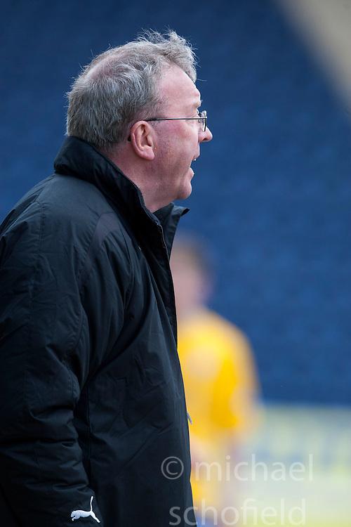 Alex Smith, Falkirk interim manager..Falkirk 4 v 0 Cowdenbeath, 6/4/2013..©Michael Schofield..