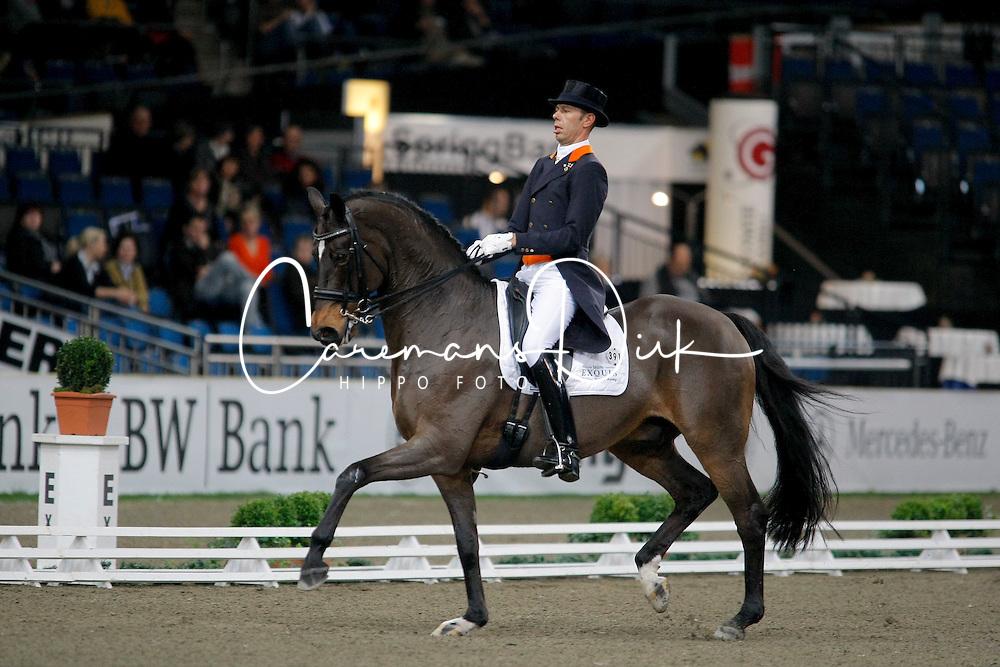 Minderhoud Hans Peter (NED) - Exquis Escapado<br /> CDI-W Stuttgart German Masters 2009<br /> Photo© Dirk Caremans