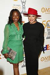 March 9, 2019 - Los Angeles, CA, USA - LOS ANGELES - MAR 9:  Tracey Bing, Lynn Whitfield at the 50th NAACP Image Awards Nominees Luncheon at the Loews Hollywood Hotel on March 9, 2019 in Los Angeles, CA (Credit Image: © Kay Blake/ZUMA Wire)